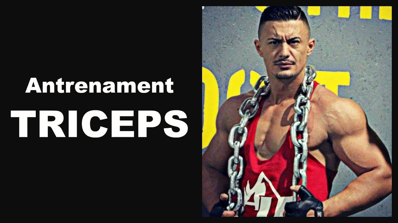 Antrenament triceps