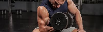 Flexii cu gantera pentru biceps
